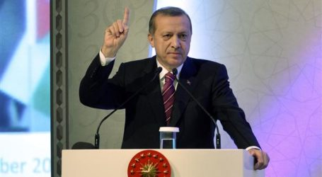 ERDOGAN: FOREIGNERS DON'T LIKE MUSLIMS, ONLY THEIR MONEY