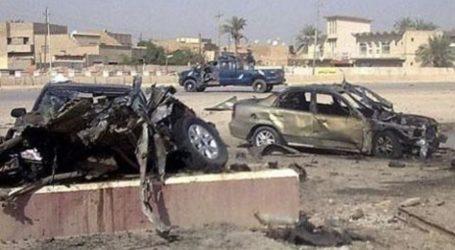 CAR BOMB BLAST ROCKS CENTRAL IRAQI CITY OF RAMADI