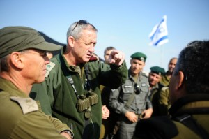 TENSIONS RISE BETWEEN ISRAELI ARMY AND SHIN BET