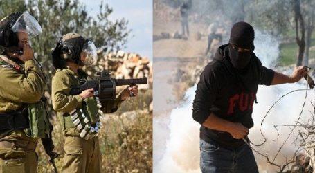 PALESTINIAN INJURED AS ISRAELI FORCES DISPERSE MARCH NEAR RAMALLAH