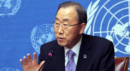 BAN KI-MOON CALLS FOR AN END TO ISRAELI OCCUPATION