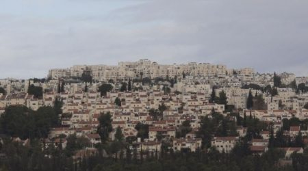 ISRAEL APPROVES  278 NEW HOUSING UNITS IN JERUSALEM