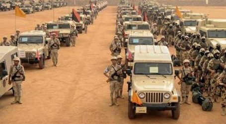 EGYPTIAN HELICOPTERS FIRE ON SINAI VILLAGES