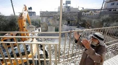 ISRAELI FORCES DEMOLISH RELEASED PRISONER'S HOME IN AL QUDS