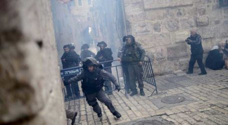 ISRAELI OCCUPATION FORCES BREACH AL-AQSA MOSQUE FOR THE FIRST TIME SINCE 1967