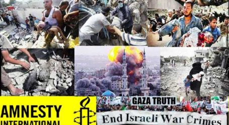 AMNESTY: ISRAEL COMMITTED WAR CRIMES TARGETING FAMILY HOMES IN GAZA