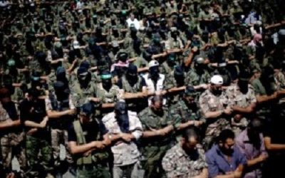 PALESTINIAN 'PEOPLE' FORCES WHO READY TO DIE FOR AL-AQSHA