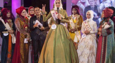 TUNISIAN WINS WORLD MUSLIMAH AWARD, CALLS FOR FREE PALESTINE