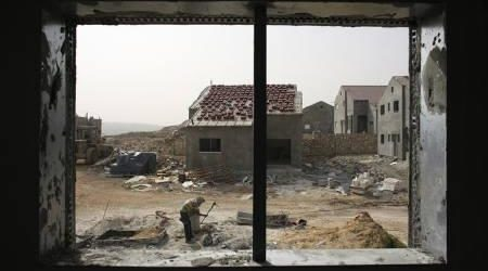 ISRAEL IMPOSES ON THE PALESTINIAN VILLAGE CURFEW AFTER CLASHES