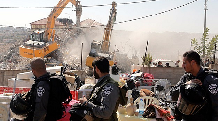 ISRAEL TO RAZE PALESTINIAN ATTACKER'S AL QUDS HOME