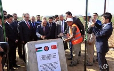 TURKISH GOVERNMENT DONATES 1000 SHELTER CONTAINERS  FOR GAZA