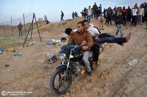 ISRAEL SHOOTS, KILLS PALESTINIAN IN NORTHERN GAZA
