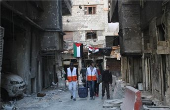 EMBASSY: AROUND 2,500 PALESTINIANS DEAD OR MISSING IN SYRIA WAR
