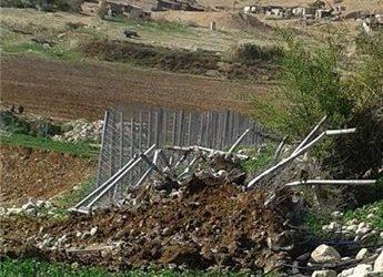 ISRAEL DEMOLISHES EU-FUNDED IRRIGATION POOLS IN JORDAN VALLEY