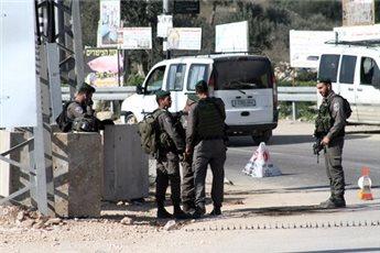 ISRAELI FORCES MAINTAIN NEW CHECKPOINTS NEAR BETHLEHEM-AREA VILLAGE
