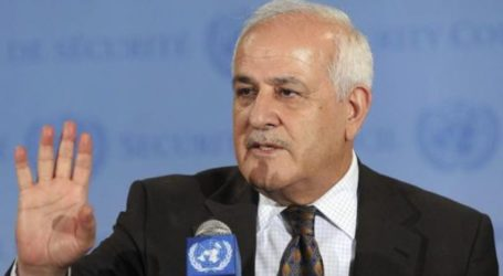 PALESTINE RAPS UNSC REJECTION OF PALESTINE STATE RESOLUTION