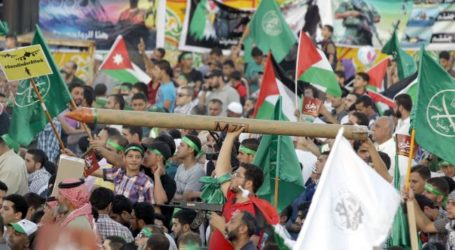 Hundreds of Jordanians Protest to Reject Annexation