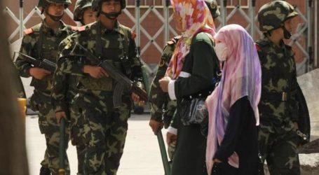 CHINA'S UIGHUR REGION TO BAN HIJAB