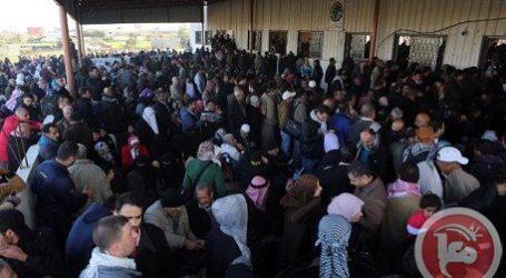 630 GAZANS ENTER EGYPT AS RAFAH REOPENS FOR TWO DAYS