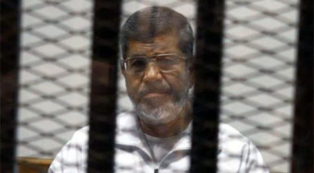 MORSI TALKS FOR THE FIRST TIME ABOUT HIS DETENTION