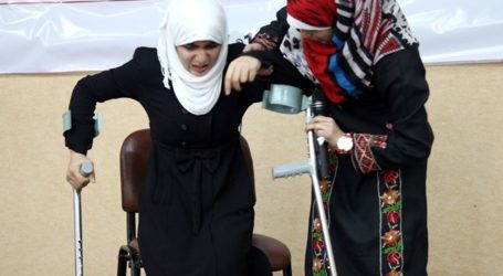 REPORT: 75 STUDENTS BECOME DISABLED DUE TO ISRAELI AGGRESSION