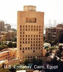 SEVERAL EMBASSIES IN CAIRO CLOSE THEIR DOORS FOR 'SECURITY REASONS'