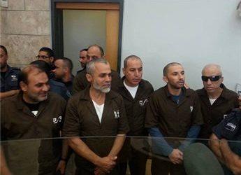 ISRAELI COURT REJECTS APPEAL OF 6 SHALIT DEAL PRISONERS FROM JERUSALEM