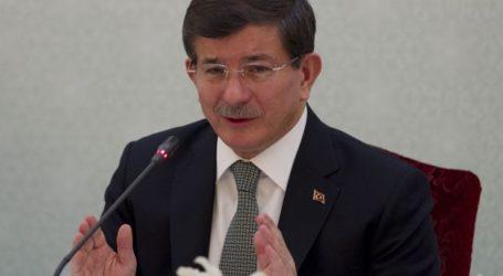 TURKISH PM CALLS ON 'MUSLIM TURKS' TO WALK TALL AGAINST ISLAMOPHOBIA