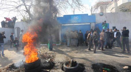 HAMAS VOWS TO PROTECT UN PREMISES IN GAZA
