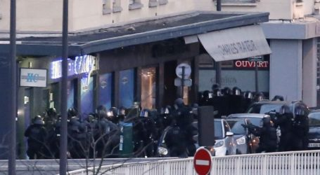 'AT LEAST SIX HOSTAGES' IN PARIS SUPERMARKET