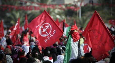 PFLP CALLS FOR FORMING UNITED RESISTANCE FRONT