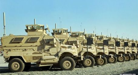 US MILITARY AID TO IRAQ WORTH MORE THAN TWO BILLION DOLLARS