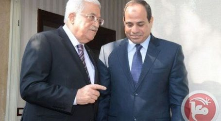 ABBAS DISCUSSES EFFORTS TO END ISRAELI OCCUPATION WITH EL-SISI