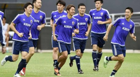 JAPAN PREPARES TO STEP INTO UNKNOWN WITH PALESTINE OPENER
