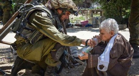 ISRAELI SOLDIER GIVES 74-YEAR-OLD PALESTINIAN WOMAN WATER THEN SHOOTS HER IN THE HEAD
