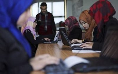 GAZA IT COMPANY HAS GOOGLE-SIZED ASPIRATIONS