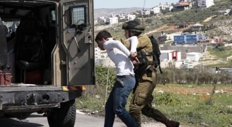 ISRAELI FORCES DETAIN TWO PALESTINIAN TEENS FROM JERUSALEM