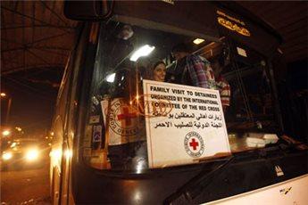 93 GAZANS VISIT RELATIVES IN ISRAELI JAILS