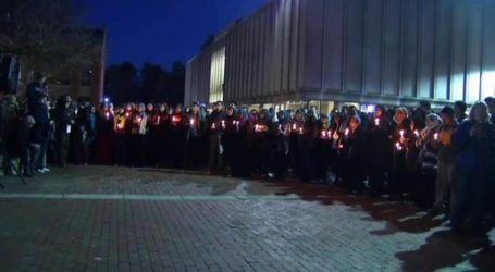 THOUSANDS ATTEND CHAPEL HILL STUDENTS VIGIL