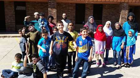 HOUSTON MUSLIMS FIGHT FIRE WITH HOPE