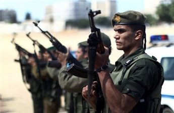 HAMAS SAYS ALLEGED SPY ACTIVE FOR 15 YEARS DETAINED IN GAZA