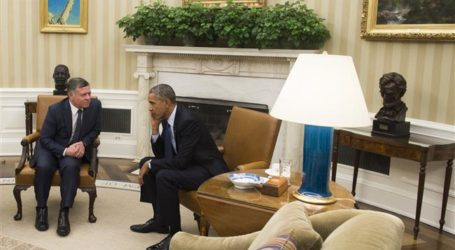 OBAMA HOLDS EMERGENCY TALKS WITH KING ABDULLAH II AFTER ISIL KILLS PILOT
