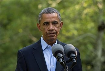 OBAMA CONFIRMS DEATH OF US HOSTAGE HELD BY ISLAMIC STATE