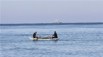ISRAELI NAVY OPENS FIRE AT GAZA FISHING BOAT