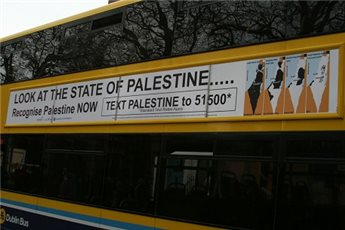 BILLBOARD CAMPAIGN LAUNCHED IN IRELAND TO RECOGNIZE PALESTINE