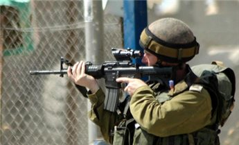 ISRAELI FORCES OPEN FIRE AT GAZA MARCH