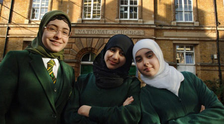 MUSLIM PUPILS DOUBLE IN UK, WALES: STUDY