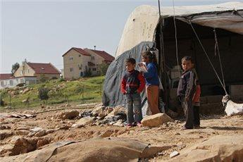 ISRAELI FORCES DEMOLISH FOUR BEDOUIN HOMES NEAR BEERSHEBA