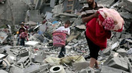 UNRWA FINANCES RECONSTRUCTION OF GAZAN FAMILIES HOMES
