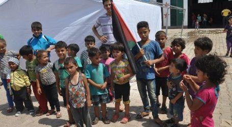 166 CHILDREN DIED IN AL-YARMOUK PALESTINIAN REFUGEE CAMP